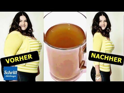 2 Getränke Um über Nacht EXTREM Viel Gewicht Zu Verlieren & Den Körper Zu Reinigen!