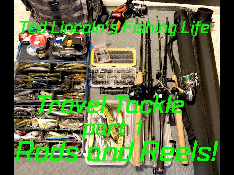 Travel Bass Fishing Tackle Rods And Reels