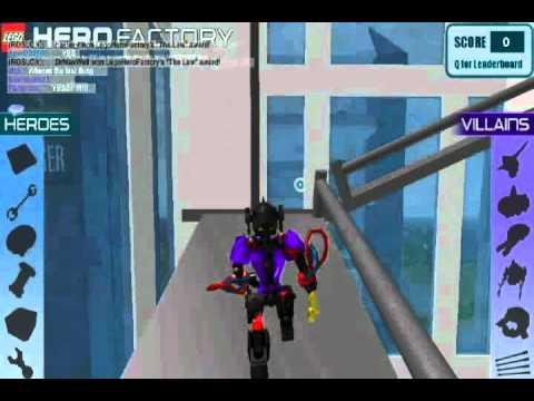 Hero Factory Breakout Игра