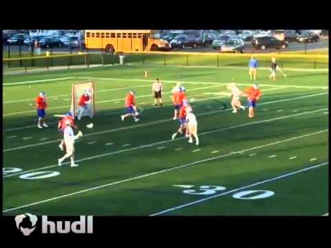 Blake Balcaen Webster Schroeder High School Lax Highlight 2014