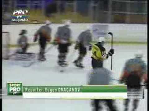 PRO-TV Chişinău о 2-м матче Платина-Кишинев - Зеленоград