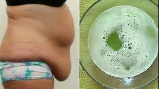 DRINK THIS AT NIGHT TO  REMOVE BELLY FAT OVERNIGHT 100% WORKING