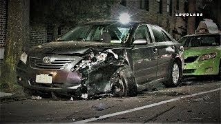Serious Car Crash in Bay Ridge 80th St & 4th Ave