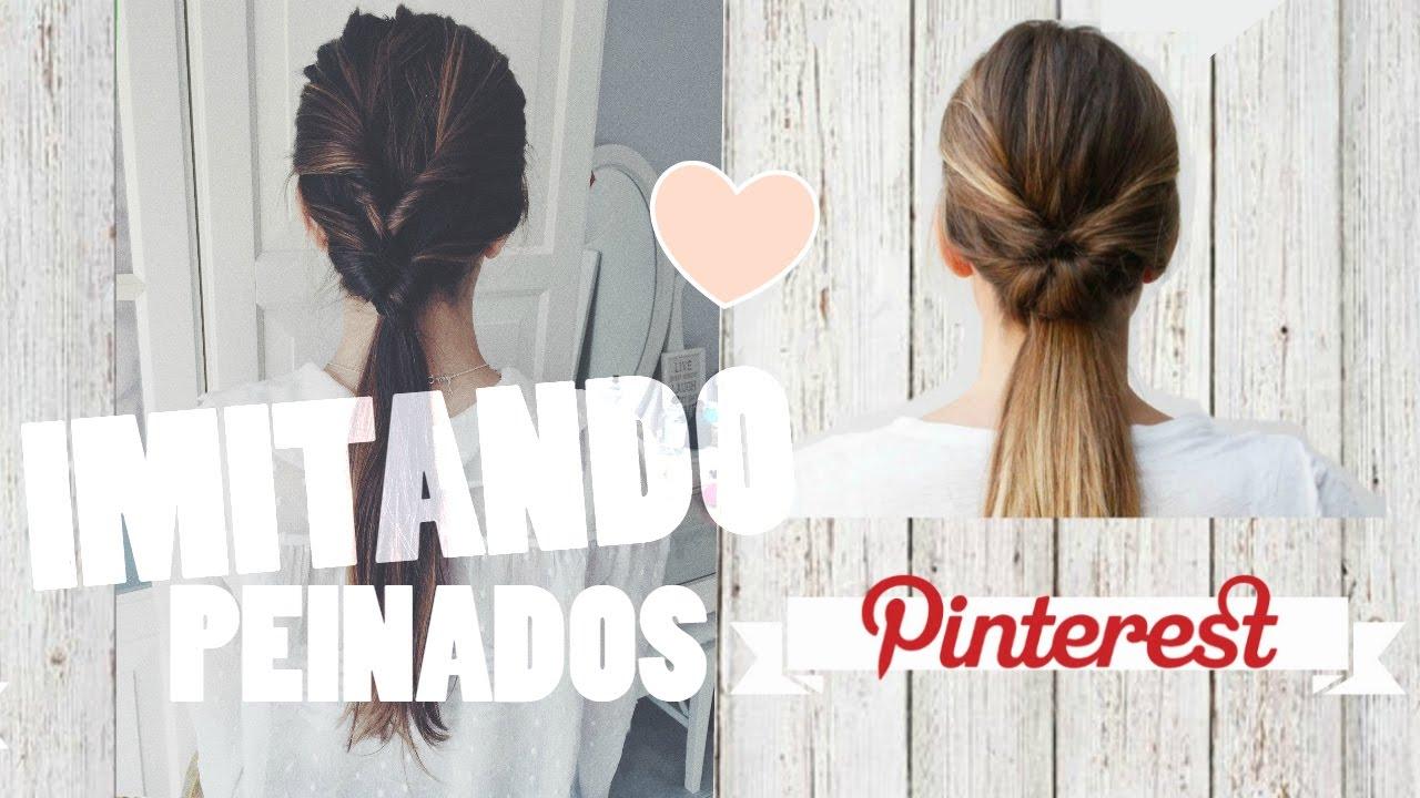 Imitando peinados pinterest f ciles y bonitos - Peinados faciles y bonitos ...