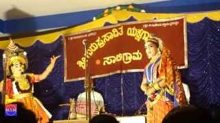 Yakshagana - Hilloor - Prasanna Shettigar - Shashikanth Shetty - Agni Charithra