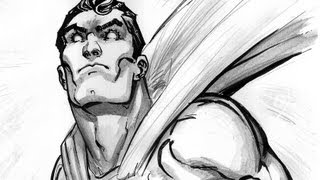 Drawing & Inking MAN OF STEEL: with Freddie Williams II