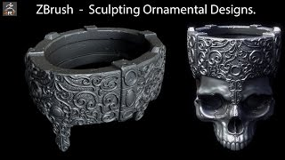 ZBrush - Sculpting Ornamental Designs