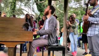 Mike Posner  & Adam Friedman - Iris LIVE 07-16-15 Video