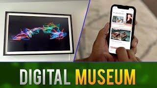 Depict Digital Canvas // Picture Frame From The Future
