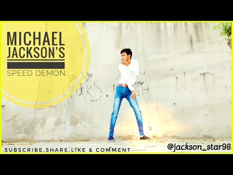 Michael Jackson - Speed Demon | freestyle dance cover | by Jackson star (indian MJ impersonator)