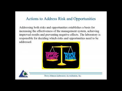 17025 - 8.5 - Action to Address Risk & Opportunity
