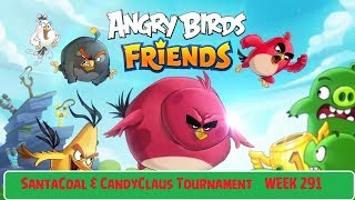 Angry Birds Friends All Levels 1-6 SantaCoal & CandyClaus Tournament Week 291 Dec 14 2017