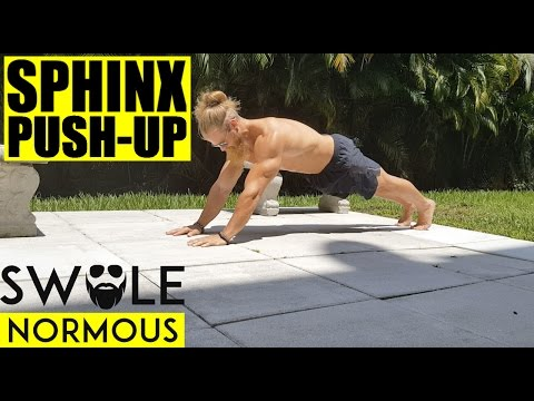 EXERCISE | GET SHREDDED TRICEPS | SPHINX PUSH-UP
