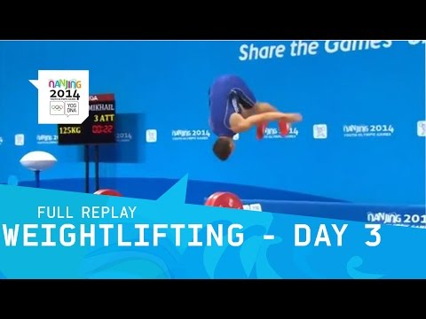 Weightlifting - Group A Men 69 kg | Full Replay | Nanjing 2014 Youth Olympic Games