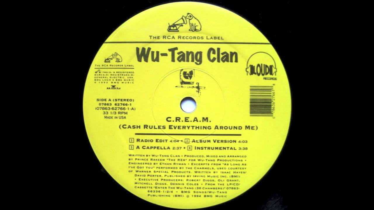 Cash Rules Everything Around Me Wu Tang