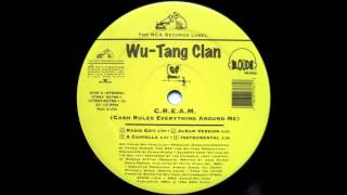 Wu-Tang Clan - C.R.E.A.M. (Cash Rules Everything Around Me) (Instrumental)