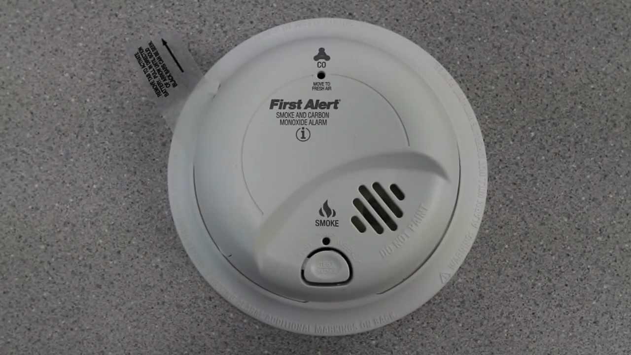 Hardwire Combination Smoke/Carbon Monoxide Alarm with Battery Backup ...