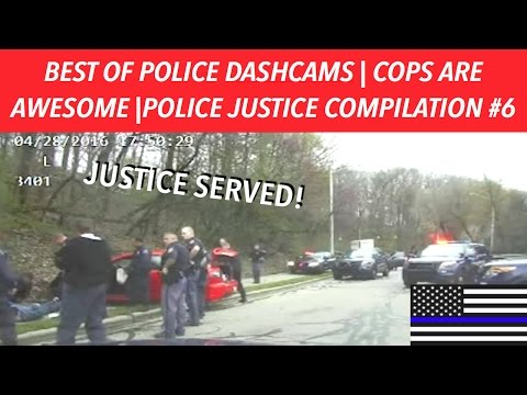 👮🏼🚔BEST OF POLICE DASHCAMS | COPS ARE AWESOME | POLICE JUSTICE COMPILATION #6