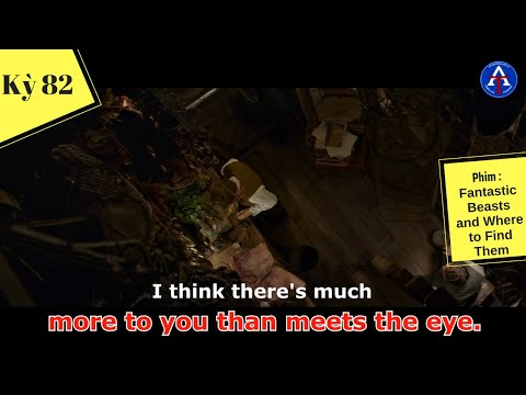 [HỌC IDIOM QUA PHIM] - More To You Than Meets The Eye (phim Fantastic Beasts and Where to Find Them)