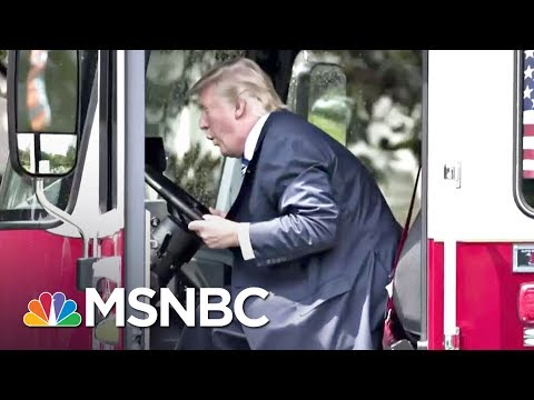 When President Donald Trump Plays With Trucks, A Health Care Bill Dies | All In | MSNBC