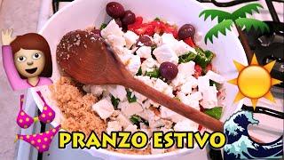 PRANZO FUORI ESTIVO Light e FRESCO, IDEA VELOCE!!! | Carlitadolce Cucina - Healthy Lunch Idea #3