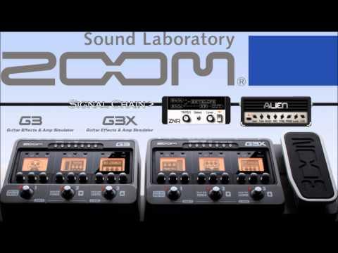 Zoom G3/G3x Metal Test - Alien/Engl Ampsim - Direct Recording Test