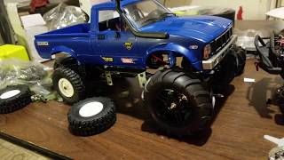 Mini Monster Truck Build Wpl c24 upgraded to the max. Metal upgrades