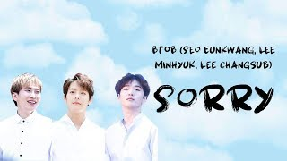 Enjoy, and don't forget to subscribe like the video! thank you! request songs here: https://goo.gl/forms/dqoyzvcz8bez4wnr2 track: sorry (미안해) artist: 비투비...