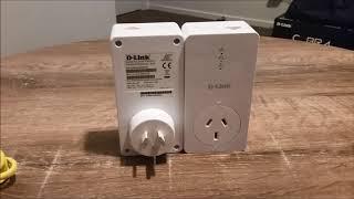 PowerLine AV2 1000 Gigabit Passthrough Kit DHP-P601AV Unboxing and Review