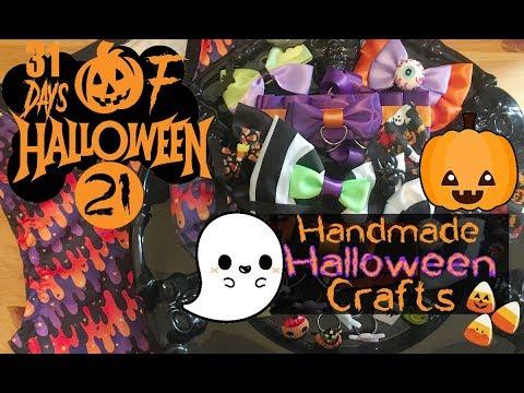 Handmade Halloween Crafts   Day 21 of 31 Days of Halloween