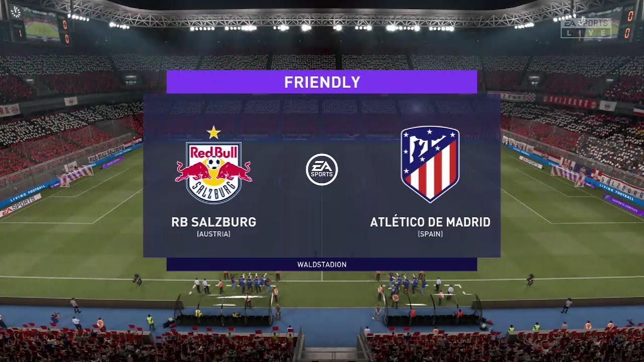 Download ⚽ RB Salzburg vs Atletico Madrid ⚽ | Club Friendlies (28/07/2021) | Fifa 21