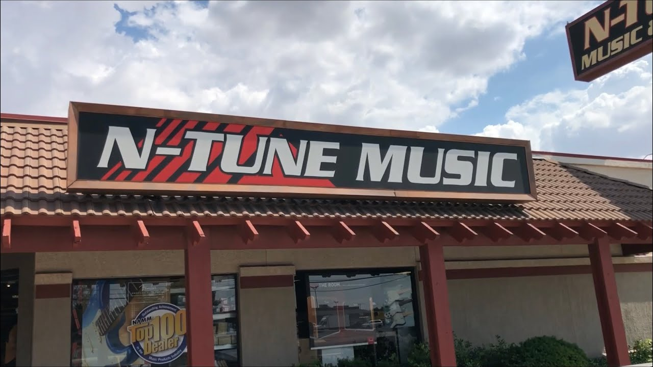 n tune music sound midland texas be sure to support your local music stores youtube. Black Bedroom Furniture Sets. Home Design Ideas