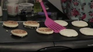 How To Make Pancake Batter Without Eggs, Yeast Or Butter : Healthy Pancakes