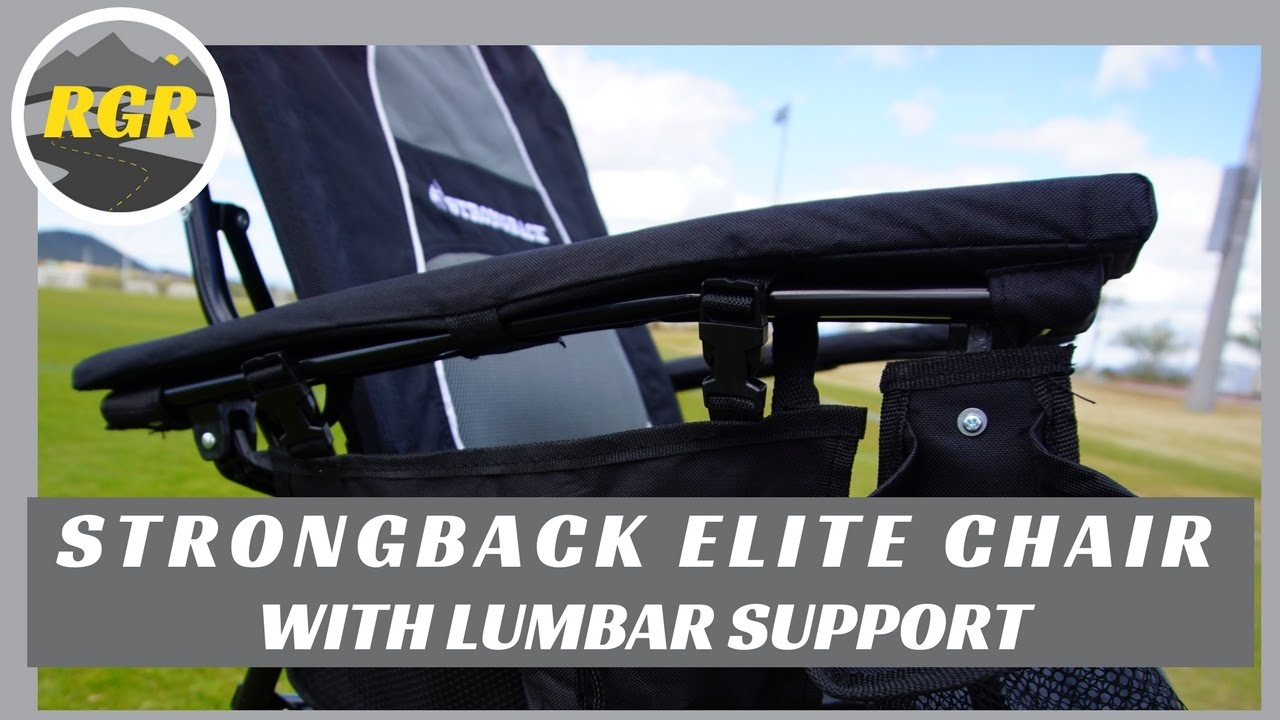 Strongback Elite Camp Chair Product Review With Lumbar Support