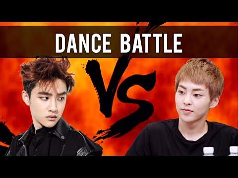 EXO Xiumin VS D.O (Part 2) Dance Battle