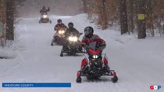 Sen. Vanderwall talks about the importance of snowmobiling