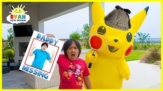 Pokemon Detective Pickachu and Ryan finds Daddy!!!