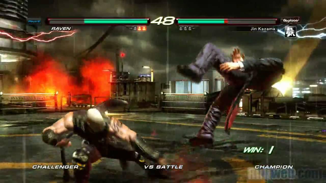 Tekken 6 Raven Vs Jin Ps3 Gameplay True Hd Quality Youtube