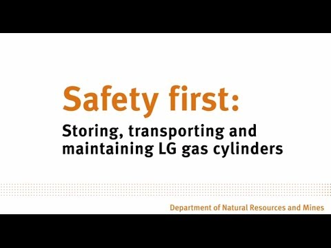 Safety First: Storing, Transporting And Maintaining LP Gas Cylinders