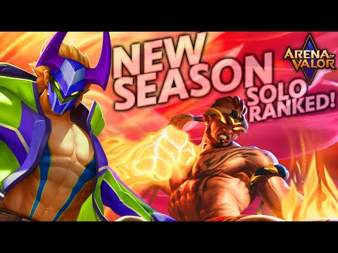 NEW SEASON Placement Games! (Revamped Nakroth + Raz Jungle) | Arena Of Valor
