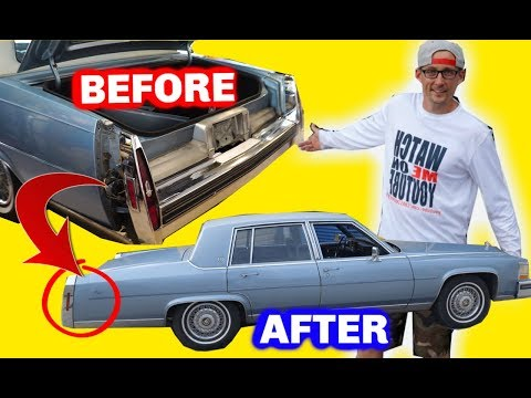 CADILLAC BUMPER FILLER REMOVAL AND INSTALL
