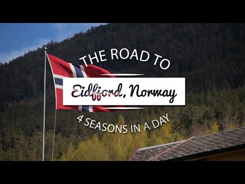 EIDFJORD & OSLO, NORWAY || Four seasons in a day!
