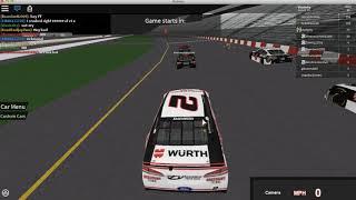 O maldito lag! ROBLOX: NASCAR 18 '