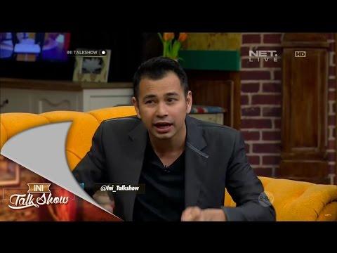 Ini Talk Show 23 Oktober Part 5/6 - Raffi Ahmad, Nagita Slavina