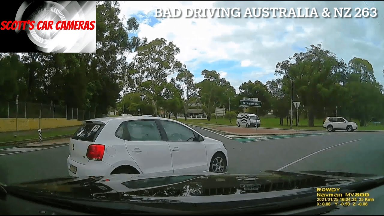 BAD DRIVING AUSTRALIA & NZ  # 263