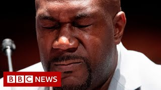 The brother of african american man whose death in police custody has sparked global protests, urged us congress to pass reforms on brutal...