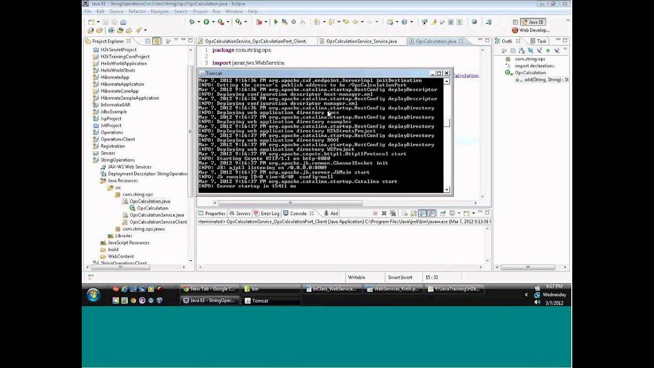 Java webservices tutorial soapui webservices videos java java webservices tutorial soapui webservices videos java tutorial for beginners baditri Images