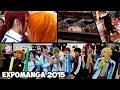 """Grupal """"Free!"""" Iwatobi Club y muchos besos (?)   Expomanga 2015"""