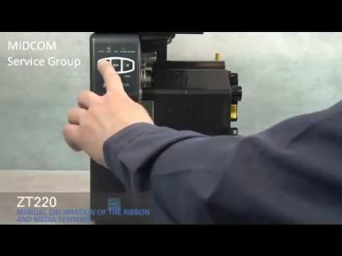 Zebra ZT220 Thermal Barcode Label Printer