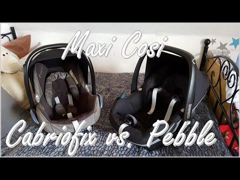 Maxi Cosi Pebble vs Cabriofix | Welcher Babysitz ist besser! || Little Reborn Nursery